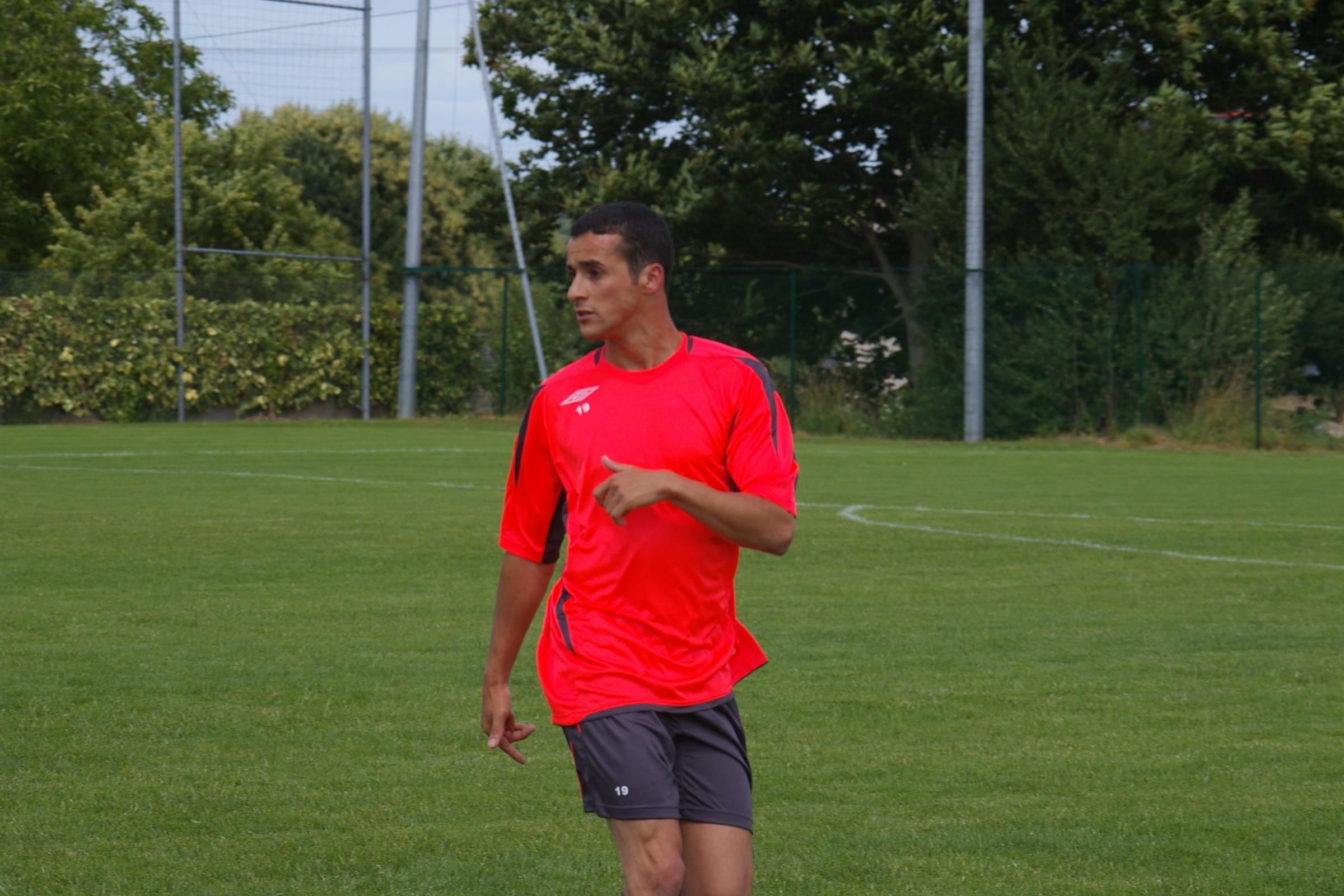Karim Semman,défenseur Vitréenne
