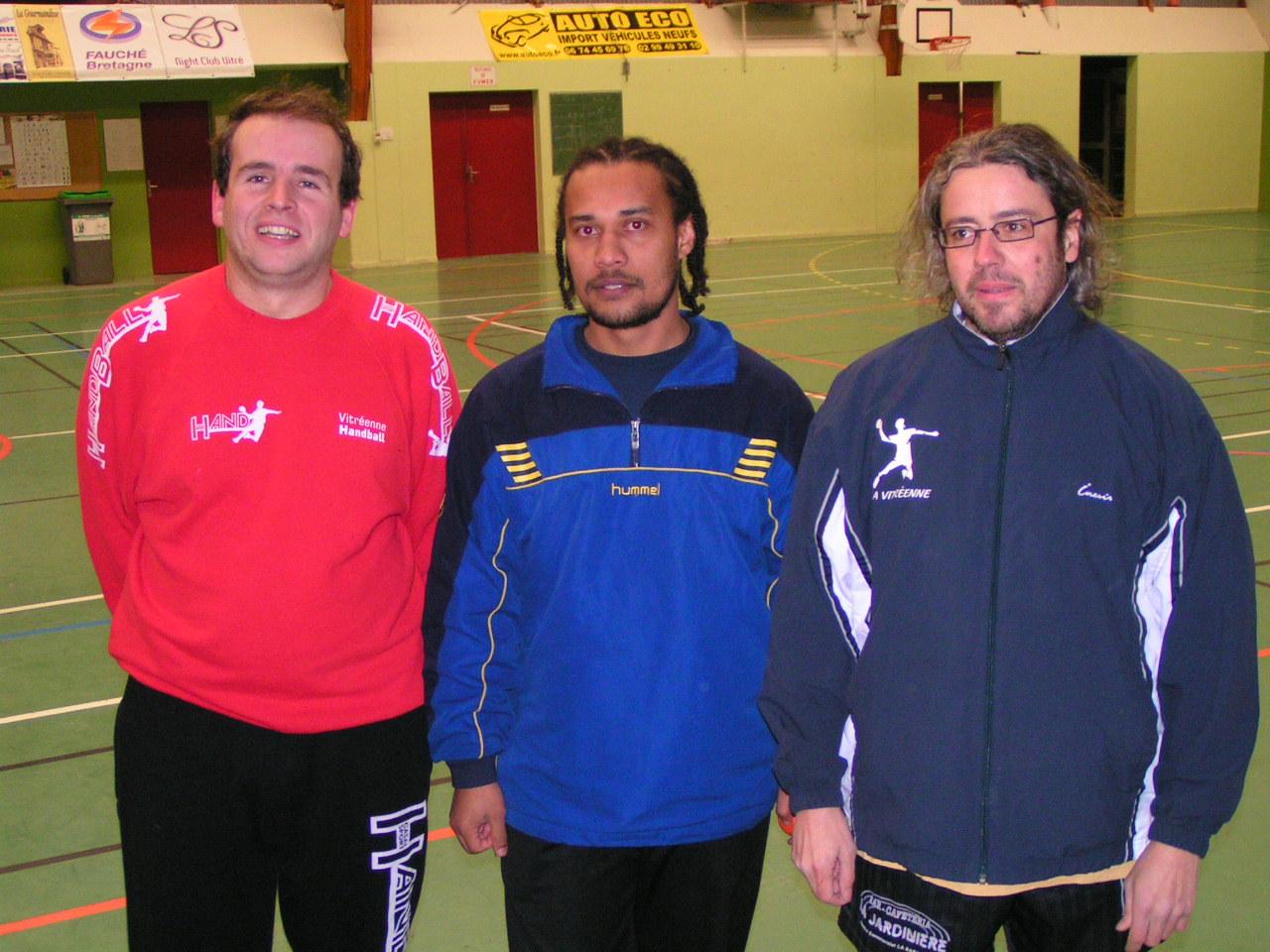 Dahlin Mondroha entraineur de la vitréenne handball